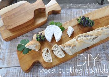 Make a nice wood cutting board- DIYscoop.com