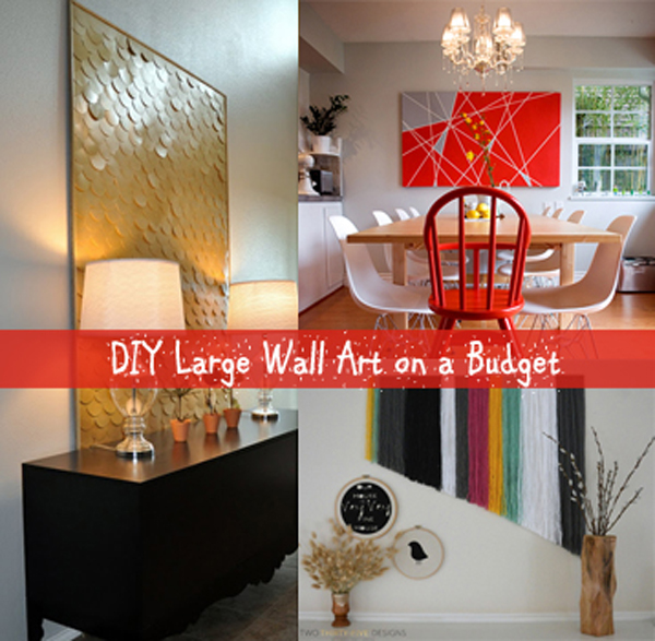 large wall art on a budget- DIYscoop.com