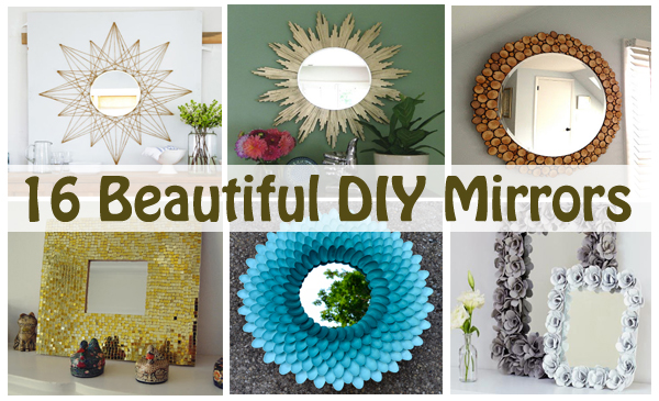 16 beautiful diy mirrors- DIYscoop.com