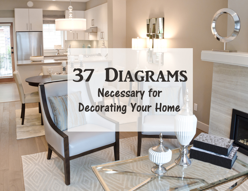 37 diagrams necessary for decorating your home - DIYscoop.com