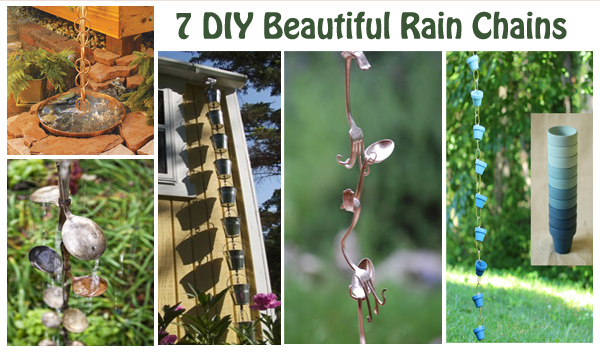 7 diy beautiful rain chains- DIYscoop.com