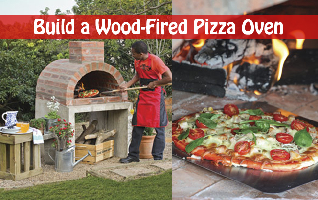 build a wood fired pizza oven- DIYscoop.com