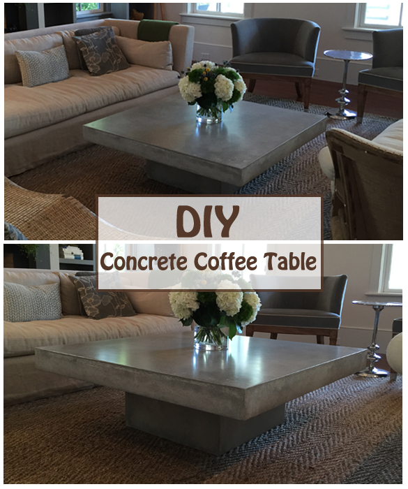 diy concrete coffee table- DIYscoop.com