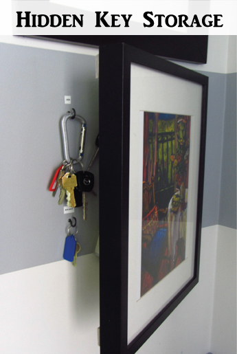 hidden key holder - DIYscoop.com