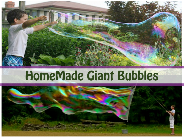 homemade giant bubbles- DIYscoop.com