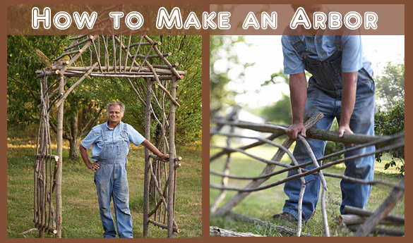 how to make an arbor- DIYscoop.com