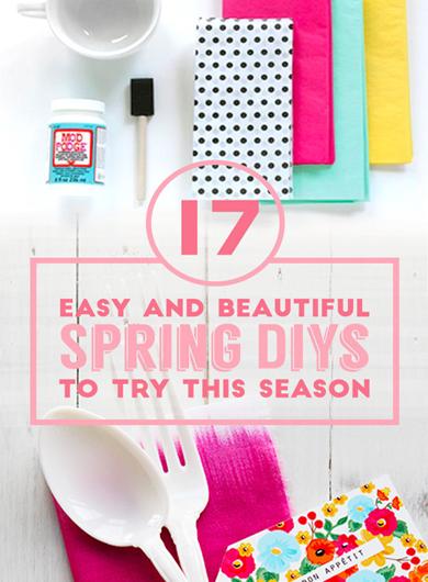 17 colorful diys for spring- DIYscoop.com