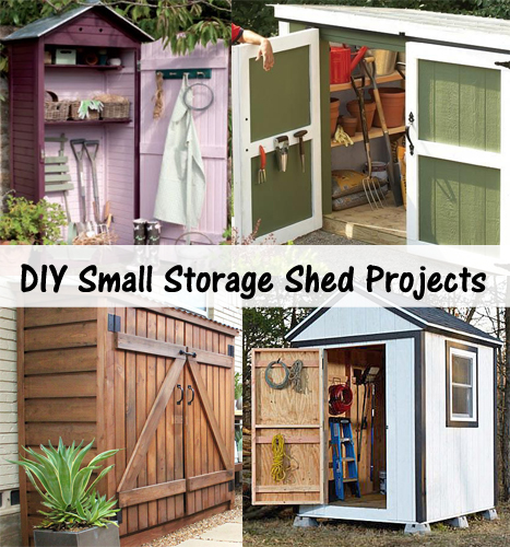 DIY small storage shed projects- DIYscoop.com