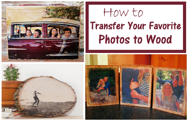 transfer your favorite photos to wood- DIYscoop.com