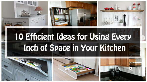 10 efficient ideas for your kitchen- DIYscoop.com