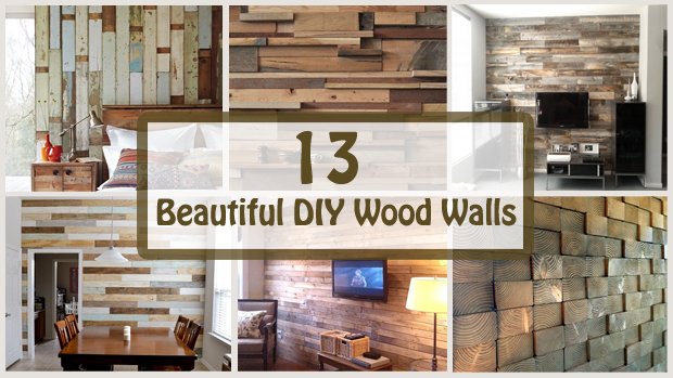 13 beautiful diy wood walls- DIYscoop.com