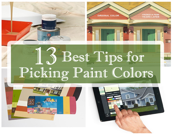13 best tips for picking paint colors- DIYscoop.com