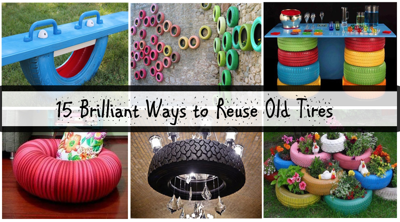 15 brilliant ways to reuse old tires= DIYscoop.com