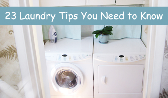 23 laundry tips you need to know- DIYscoop.com