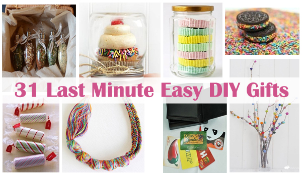 31 last minute easy diy gifts- DIYscoop.com