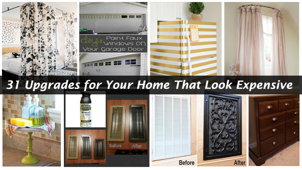 31 upgrades for your home that look expensive- DIYscoop.com