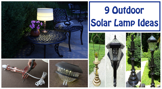 9 outdoor solar lamp ideas- DIYscoop.com