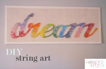 dream string art