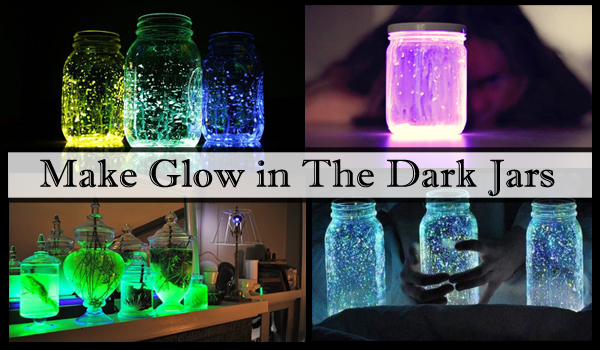 make glow in the dark jars