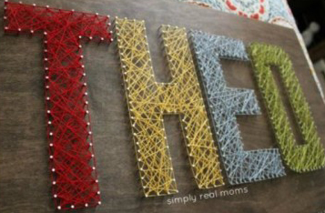 word string art