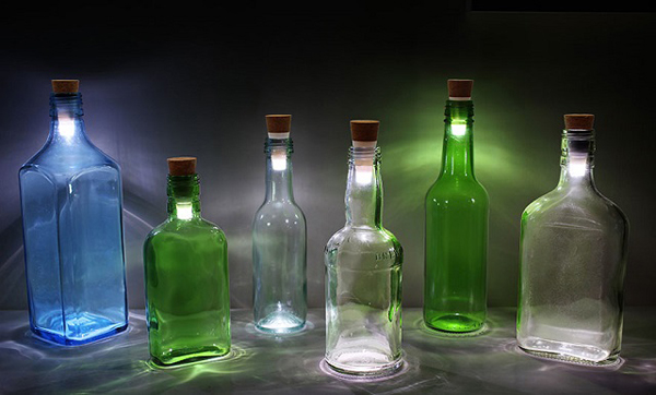 wine bottle led lamp