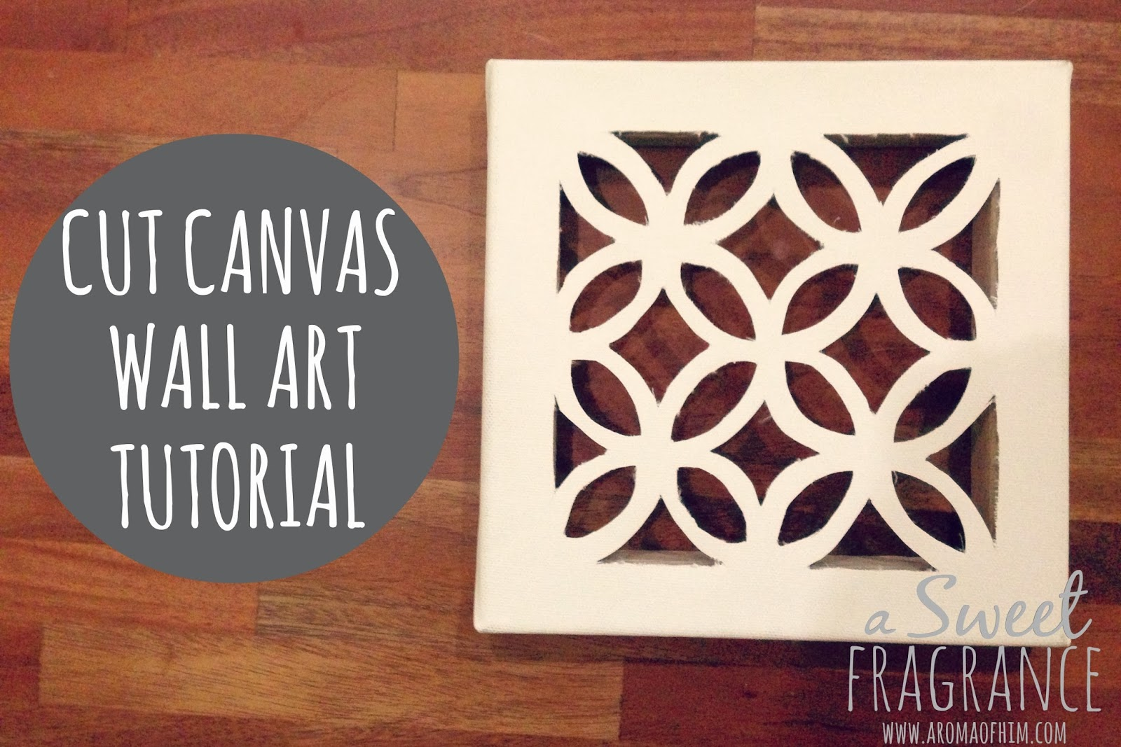 Diy Wall Art That Looks Expensive : Diy cut canvas wall art that looks expensive but is cheap
