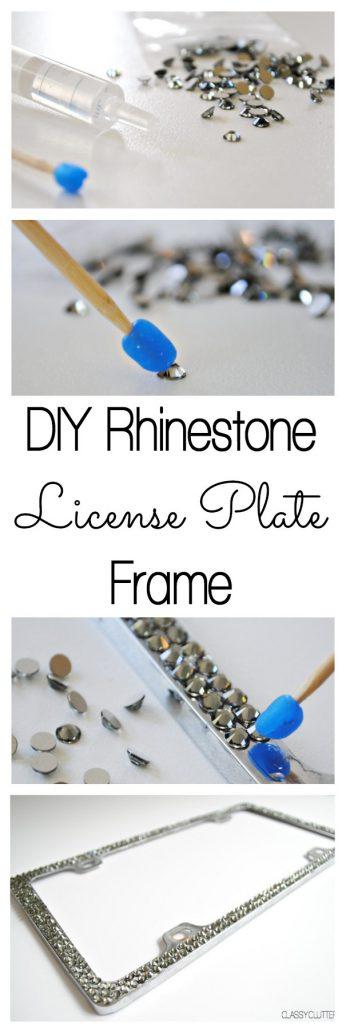 DIY-Rhinestone-License-Plate-Frame-www.classyclutter.net_2