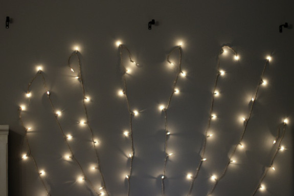 Headboard-lights-before-hanging-curtain