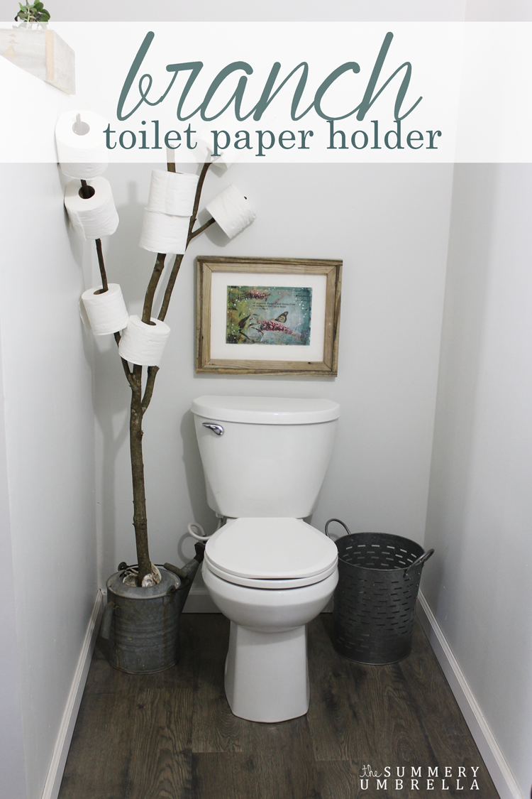 Diy Hilarious Toilet Paper Holder Tree Diy Scoop