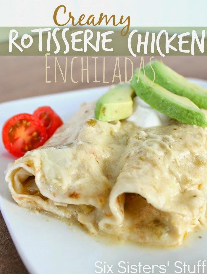 rotisserie-chicken-enchiladas