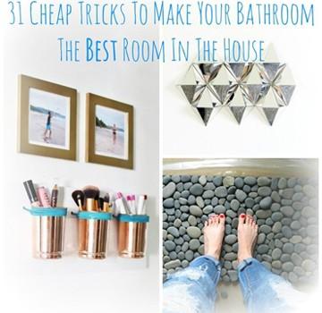 31 bathroom tricks