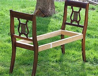 Frame for bench -DIYscoop.com
