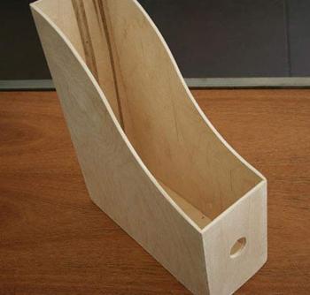 Ikea box to use as shelf- DIYscoop.com