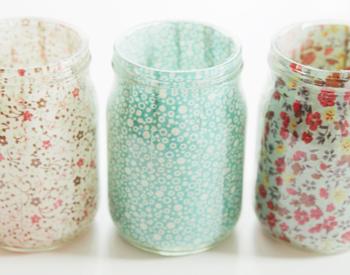 mason jar vases- DIYscoop.com