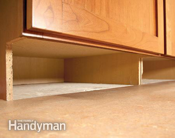empty toe kick space- DIYscoop.com